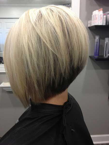 Blonde Bob with Black Underneath Hair: Short Hair Ideas for 2014