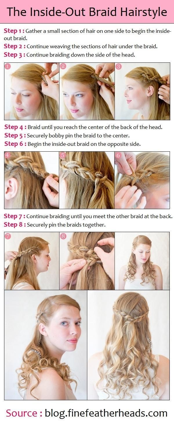 Bridesmaids Hairstyles for Long Hair Tutorial - PoPular Haircuts