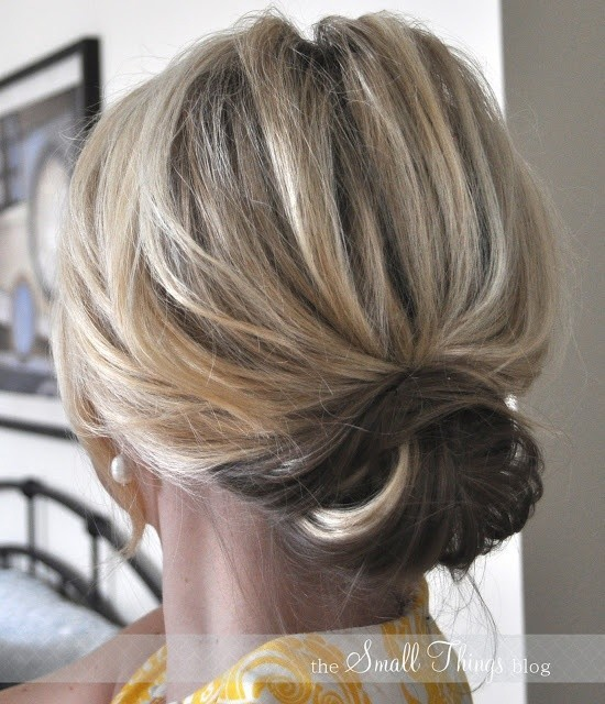 Chic Low Bun Updos