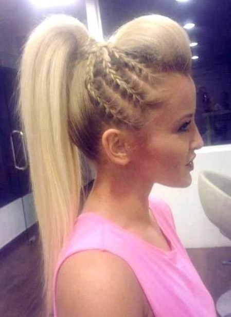Hairstyle Ponytail : Pics Photos - Braided Ponytail Hairstyle Braided Ponytail Hairstyle