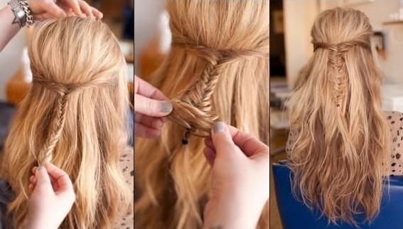 Groovy Cute Simple Down Hairstyles Best Hairstyles 2017 Hairstyles For Women Draintrainus
