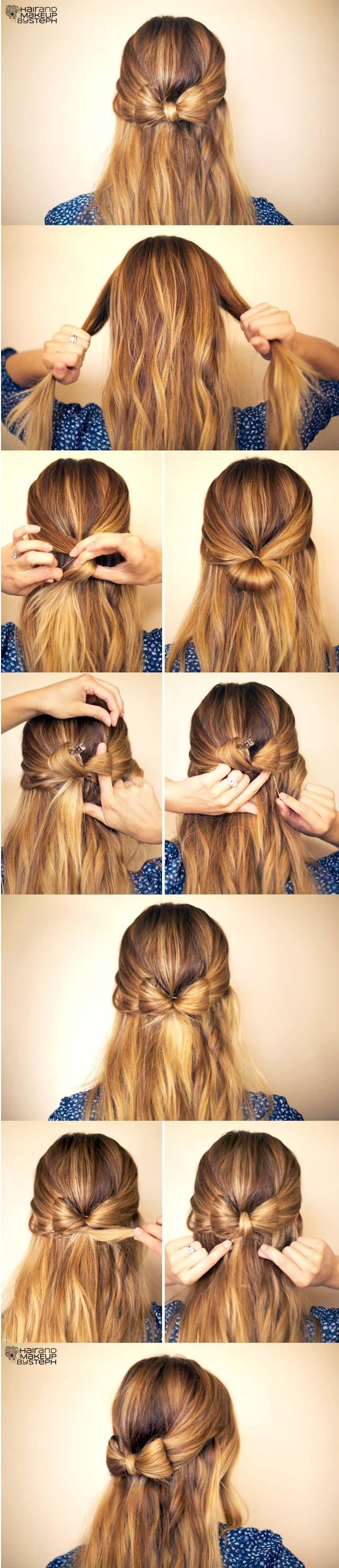 Super 15 Cute Hairstyles Step By Step Hairstyles For Long Hair Short Hairstyles Gunalazisus