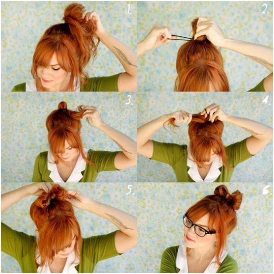 Peachy 10 Ways To Make Cute Everyday Hairstyles Long Hair Tutorials Short Hairstyles For Black Women Fulllsitofus