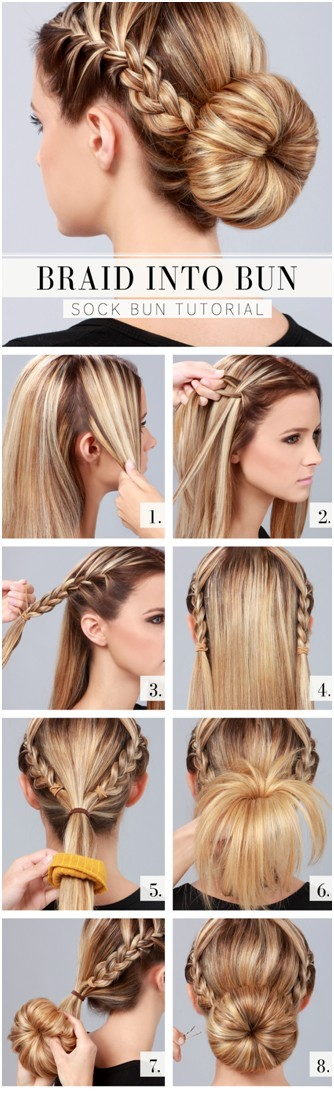 10 Ways to Make Cute Everyday Hairstyles: Long Hair Tutorials ...