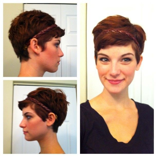 Cute Pixie Hairstyles for Oval Faces