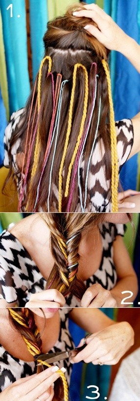 DIY Fishtail Braid Hairstyles