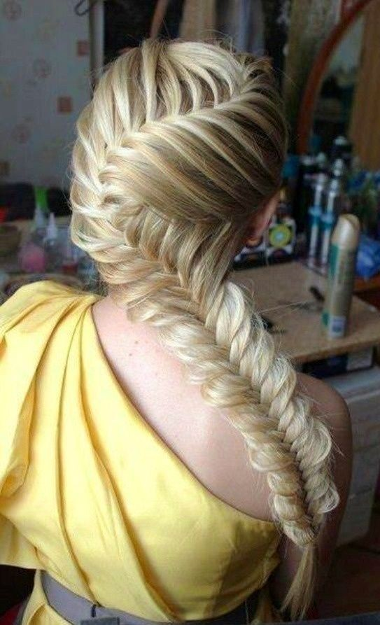 Easy Side Fishtail Braid Hairstyles