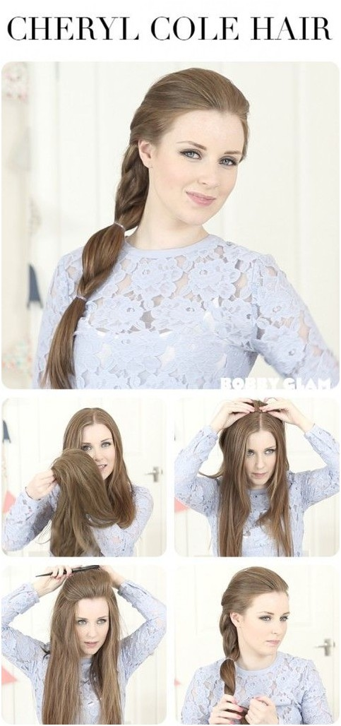 Everyday Hairstyles Tutorials: Easy Ponytail