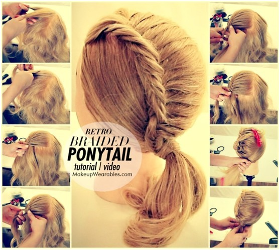 Fishtail Braided Hairstyles Tutorial: Trendy Hairstyles for Girl