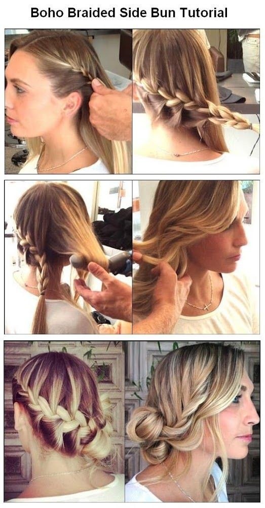 Outstanding Step By Step Hairstyles For Long Hair Long Hairstyles Ideas Short Hairstyles Gunalazisus