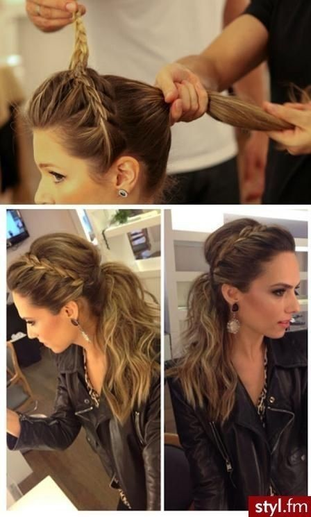 How to Do a Headband Braid on Yourself: Step by Step