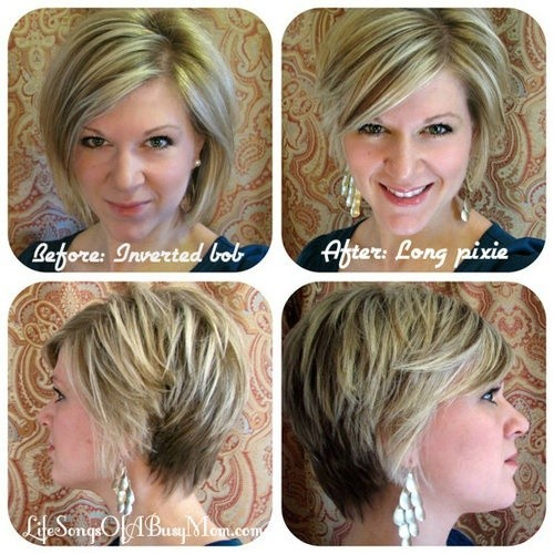 Layered Pixie Cut Hairstyles