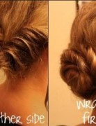 Low Bun Updo Hairstyle Tutorial