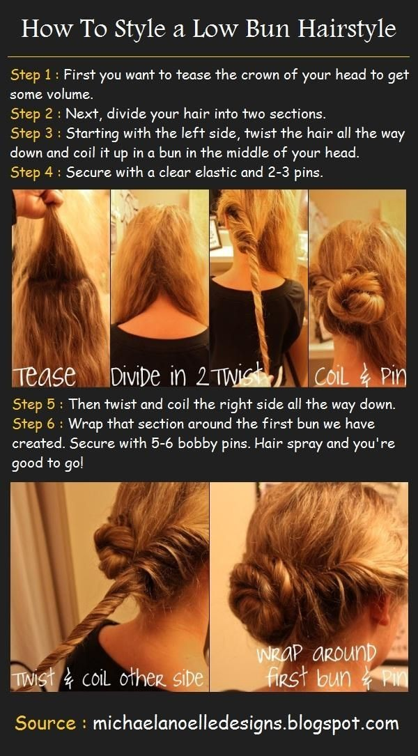Low Bun Updo Hairstyle Tutorials Prom Updos Popular