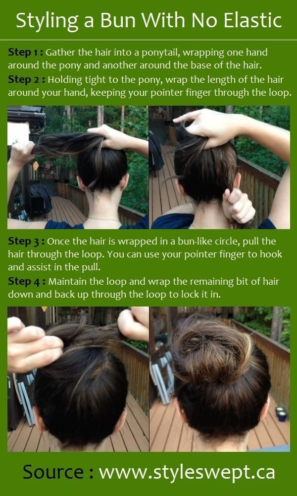 Messy Bun Updos Tutorials: Cute Easy Hairstyles for Girls