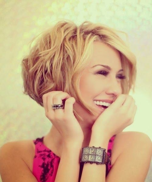Most Popular Hairstyles for Summer: Awesome Messy Short Hairstyle