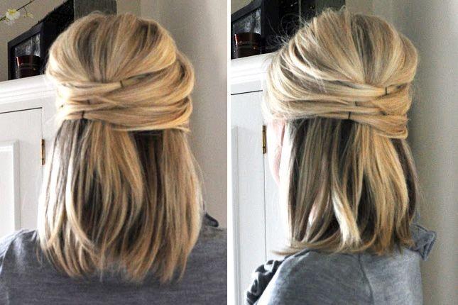 Office Hairstyles for Women: Medium Straight Hair