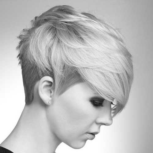 Popular Short Haircut for Summer: Straight Pixie Hairstyles