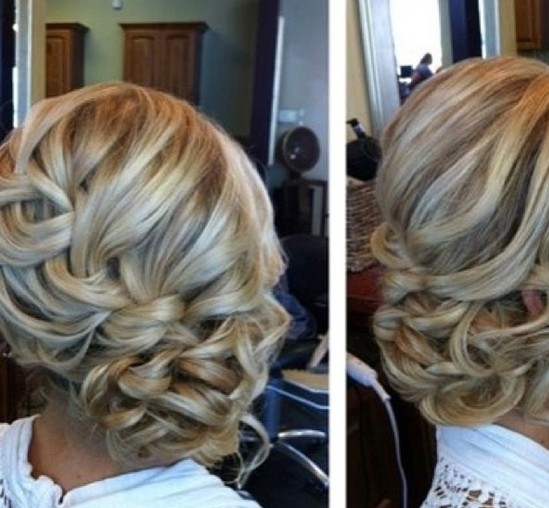 Prom Hairstyles for Long Hair: Braid Side Updos
