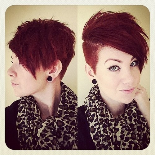 Really Cute, Short Shaved Haircut