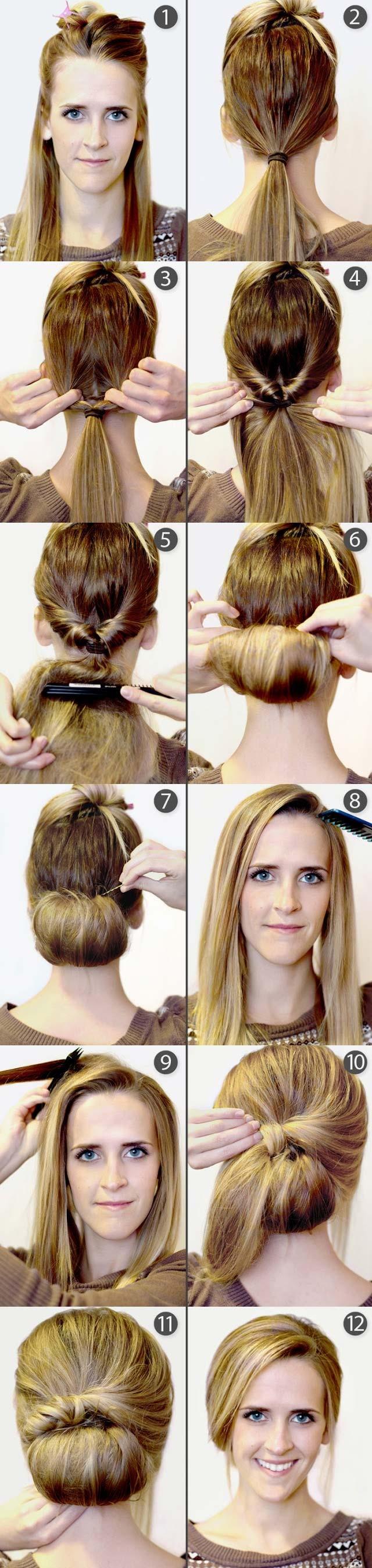 Strange 15 Cute Hairstyles Step By Step Hairstyles For Long Hair Short Hairstyles Gunalazisus