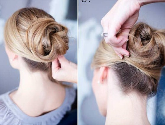 12 Trendy Low Bun Updo Hairstyles Tutorials Easy Cute