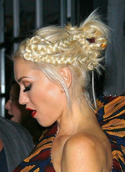 Updos with Braids for Medium Length Hair