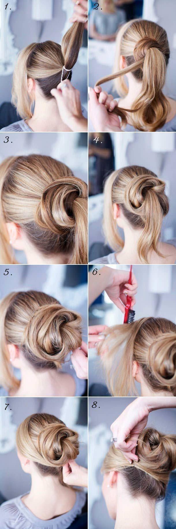 12 trendy low bun updo hairstyles tutorials: easy cute - popular
