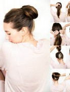 10 Easy Bun Updos Tutorials for 2014