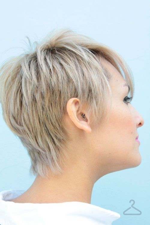 2014 Summer Hairstyles: Short Haircuts Side View