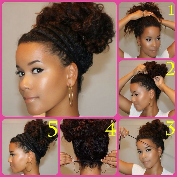 Medium Naturally Curly Hairstyles