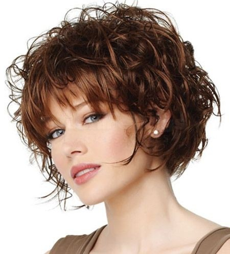 Marvelous Thick Curly Hair Short Hairstyles Best Image Hair 2017 Short Hairstyles Gunalazisus
