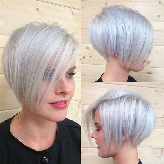 Best Short Hairstyles for Fine Hair - Women Short Haircut