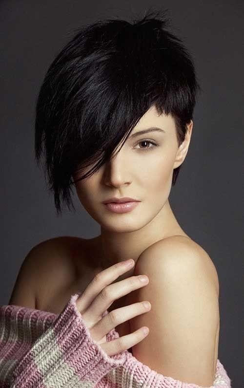 Hairstyles For Long Hair To Short : Black Long Pixie Haircut for Long Face: Asian Short Hairstyles / Via