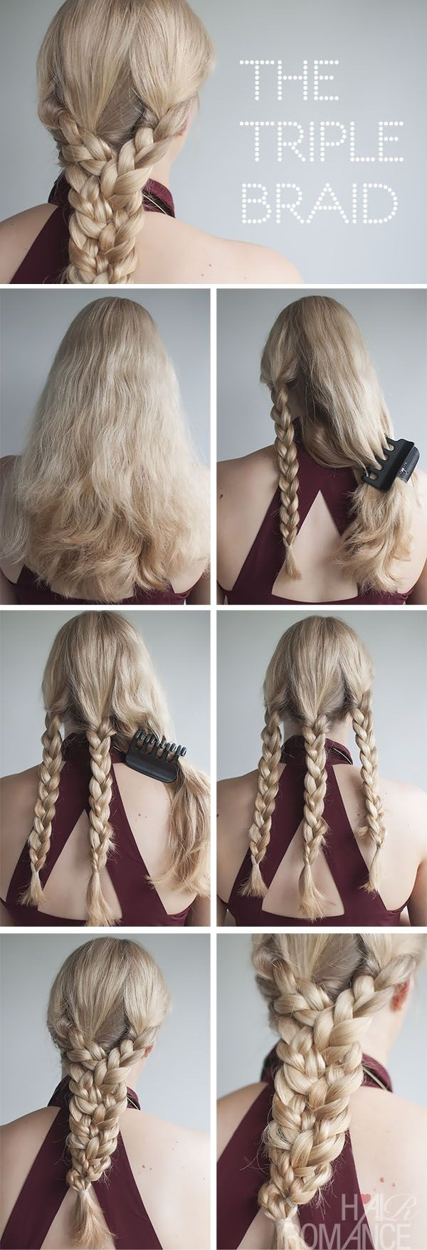 Braided Hairstyle Tutorial for Summer