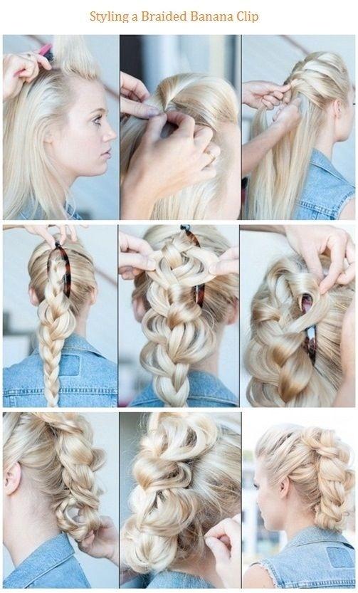 Clip Braids Hairstyle