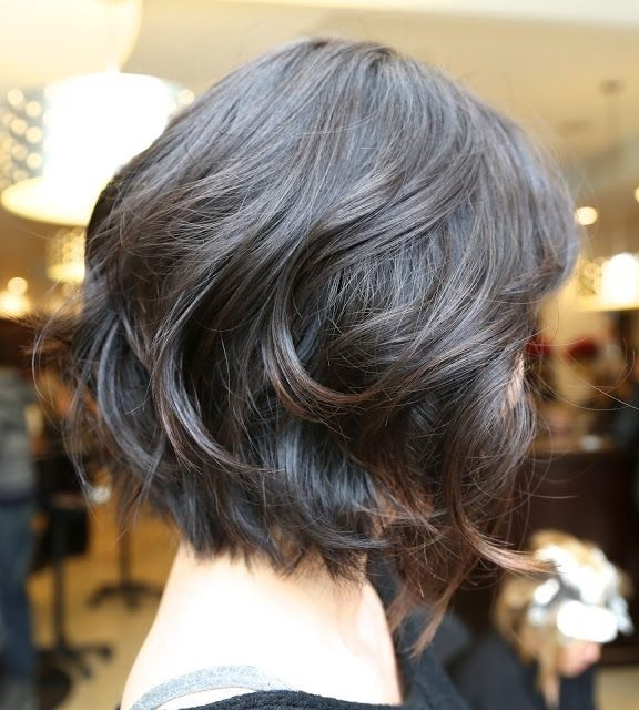 Easy Wavy Bob Hairstyles: Side View