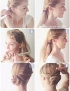 Everyday Hairstyles Tutorials: Easy Low Chignon Bun