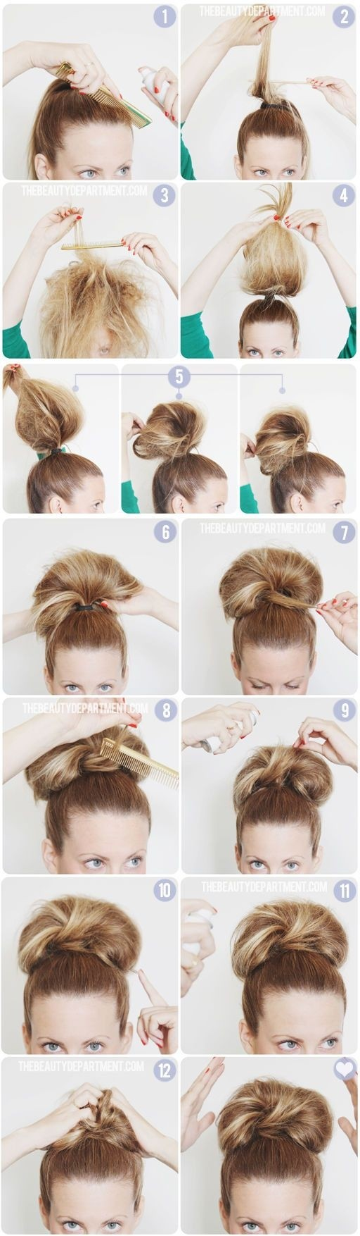 10 Super Easy Updo Hairstyles Tutorials Popular Haircuts