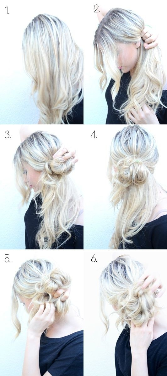 Top 25 Messy Hair Bun Tutorials Perfect For Those Lazy Mornings ...