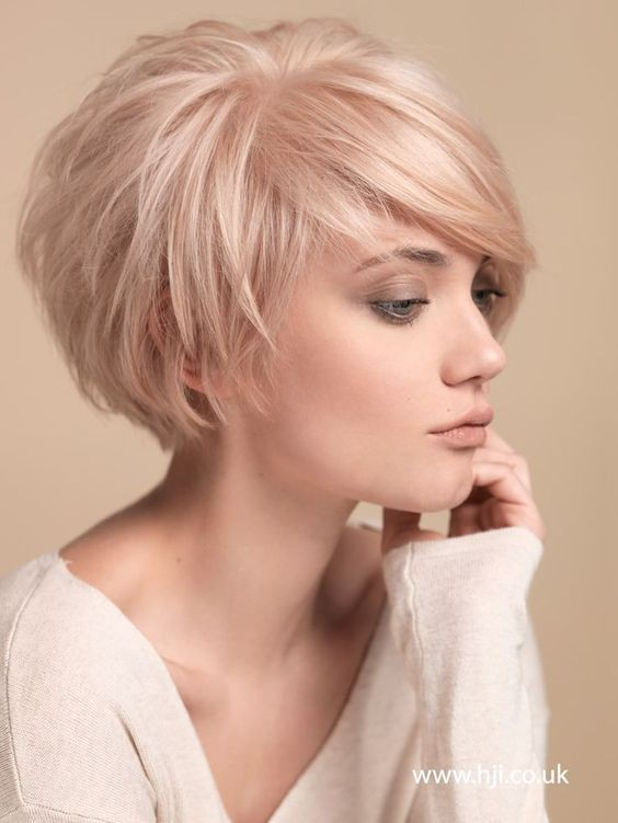 short medium haircuts for fine hair 40 best hairstyles for hair 2019 4228 | Light Pink Hair Styles Best Short Hairstyles for Fine Hair