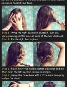 Long Hairstyles Tutorial for Twisted Bun Updos