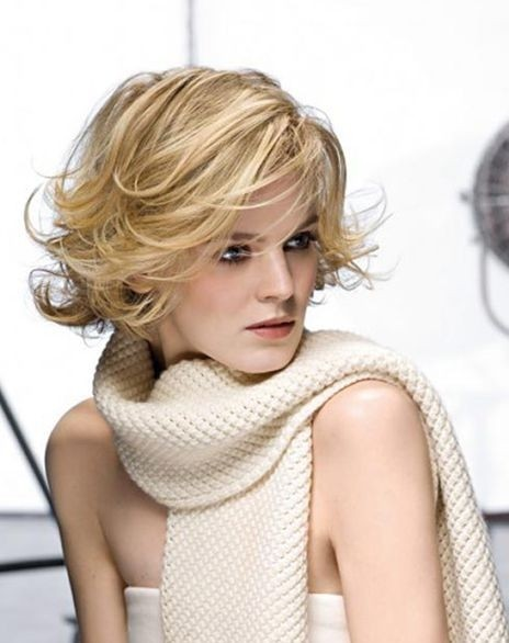Luscious Short Hairstyle for Women Over 40