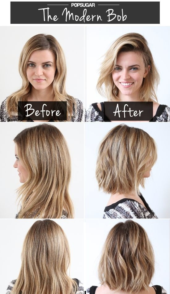 Modern Bob Short Haircuts Before After Popular Haircuts