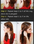 Nice Updo Hairstyles Tutorials: Braid Twist Updo