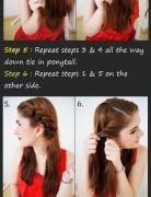 Nice Updo Hairstyles Tutorials: Braid Twist Updo