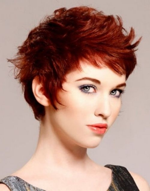 Red Pixie Haircut: Women Short Hairstyles Trends