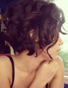 Short Curly Hairstyles for Thin Hair