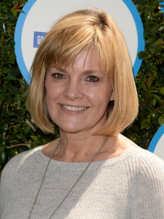 Short Haircuts for Older Women: Kate Carr Blonde Short Bob Hairstyle