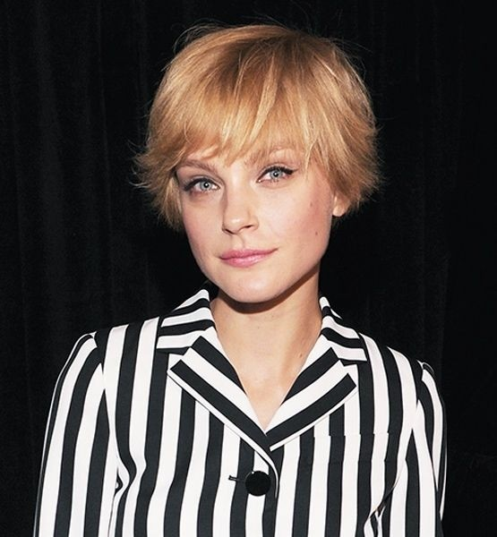 Short Straight Fine Hairstyles for Long Face